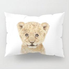 Baby Lion Cub Portrait Pillow Sham
