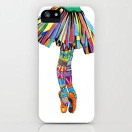 Happy Ballerina iPhone Case