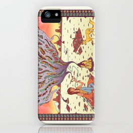 Intangible Quarter. iPhone Case