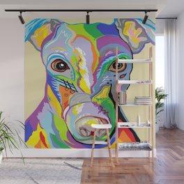 Greyhound Close Up Wall Mural