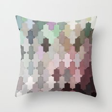 Toned Down Throw Pillow