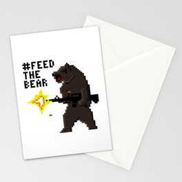 Bear Arms #2 Stationery Cards