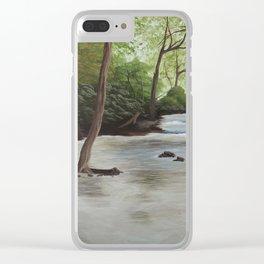 Elkhorn Creek Clear iPhone Case