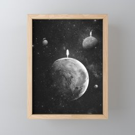 The distance of wishing.  Framed Mini Art Print
