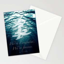 Shadow - Forever parabatai Stationery Cards