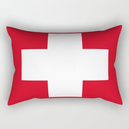Ski Patrol Rectangular Pillow