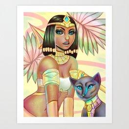 Pharaoh Nidalee Art Print