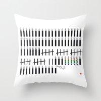 mandela Throw Pillows featuring Mandela  by Keep It Simple