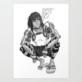 Jormugand Art Print