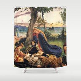 King Arthur Shower Curtain