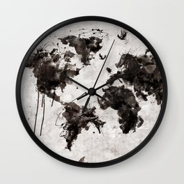 Wild World Wall Clock