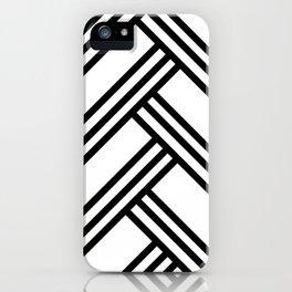 Lines iPhone Case