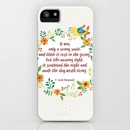 F.S. Fitzgerald  iPhone Case