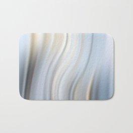 Abstract modern wavy background, elegant wave illustration Bath Mat
