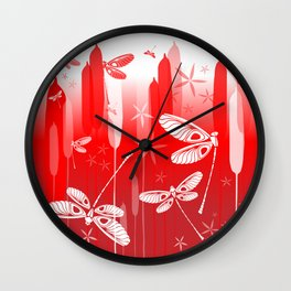 CN DRAGONFLY 1013 Wall Clock