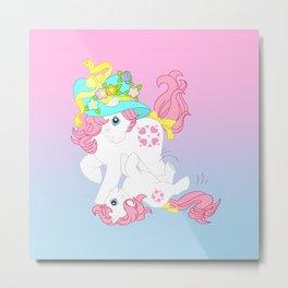 g1 my little pony Sundance and baby Metal Print