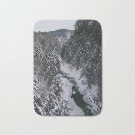 Winter in Vermont Bath Mat