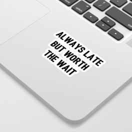 The Guilty Person V Sticker