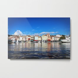 Waterfront, Cassis Metal Print
