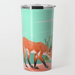 Triangular world Travel Mug