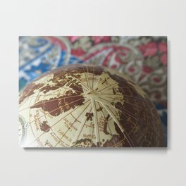 Cartographic Imperfections Metal Print