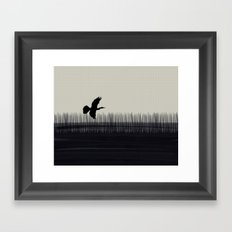 Anhinga Florida Everglades Framed Art Print