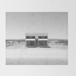Desert Materialism Throw Blanket