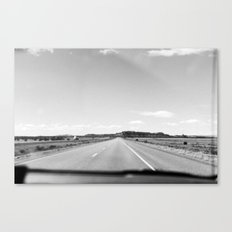 Dreaming of the Road Canvas Print