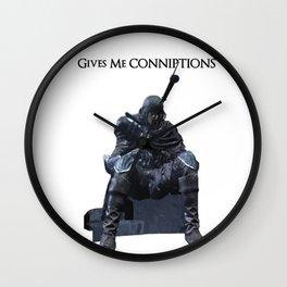 Dark Souls Conniptions Wall Clock