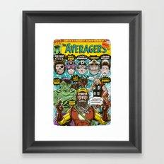 the Averagers Framed Art Print