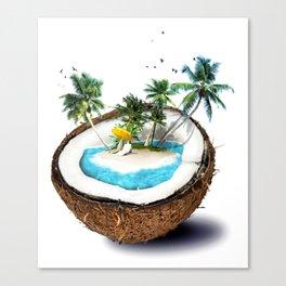 PARADISE--COCO Canvas Print