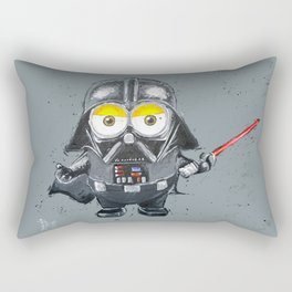 Darth Vader minion style Rectangular Pillow