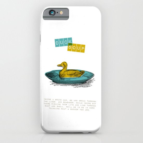 Duck Soup iPhone & iPod Case