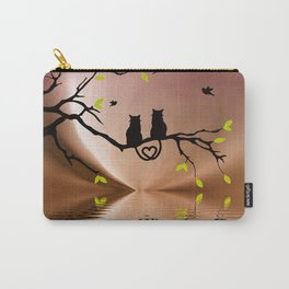 Springtime Love Carry-All Pouch