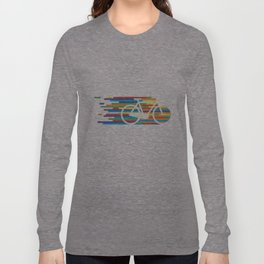 Colorful bicycle 1 Long Sleeve T-shirt