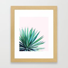 Agave Love #society6 #decor #buyart Framed Art Print