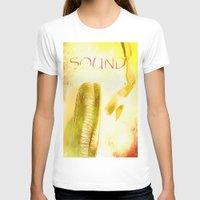 sound T-shirts featuring Sound by Fine2art