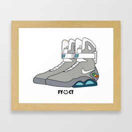 Air Mag by FYCT Framed Art Print