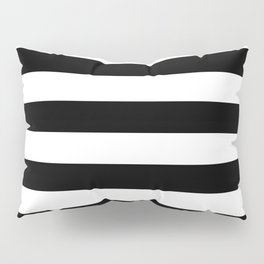 Black & White Stripes- Mix & Match with Simplicity of Life Pillow Sham
