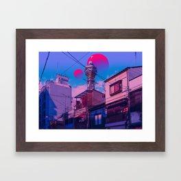 Osaka 2084 Framed Art Print