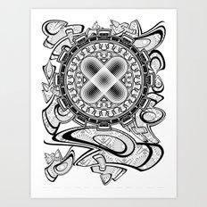 UNIT 44 Art Print