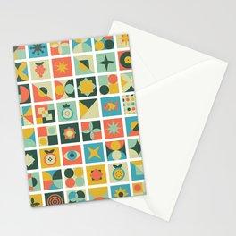 Geometric pattern #2 Stationery Cards