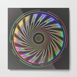 Quantum Leap Metal Print