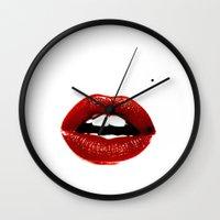 monroe Wall Clocks featuring Monroe by Ani Keshishyan