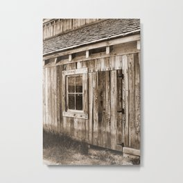 Historic Tate Barn, Midway, Utah Metal Print