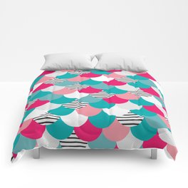 Scale Pattern Comforters