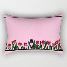 Tulipes Rectangular Pillow