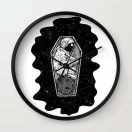 No More Space Wall Clock