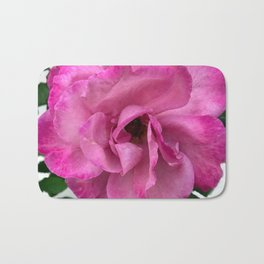 Bodacious Pink Rose | Large Pink Flower | Nature Photography Bath Mat