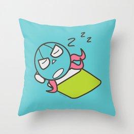 Sleeping Octopus Throw Pillow